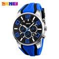 2017 SKMEI Men Quartz Wristwatches Fashion Sport Stop Watch Men Auto Date Waterproof Clocks Relogio Masculino Male Brand Watches