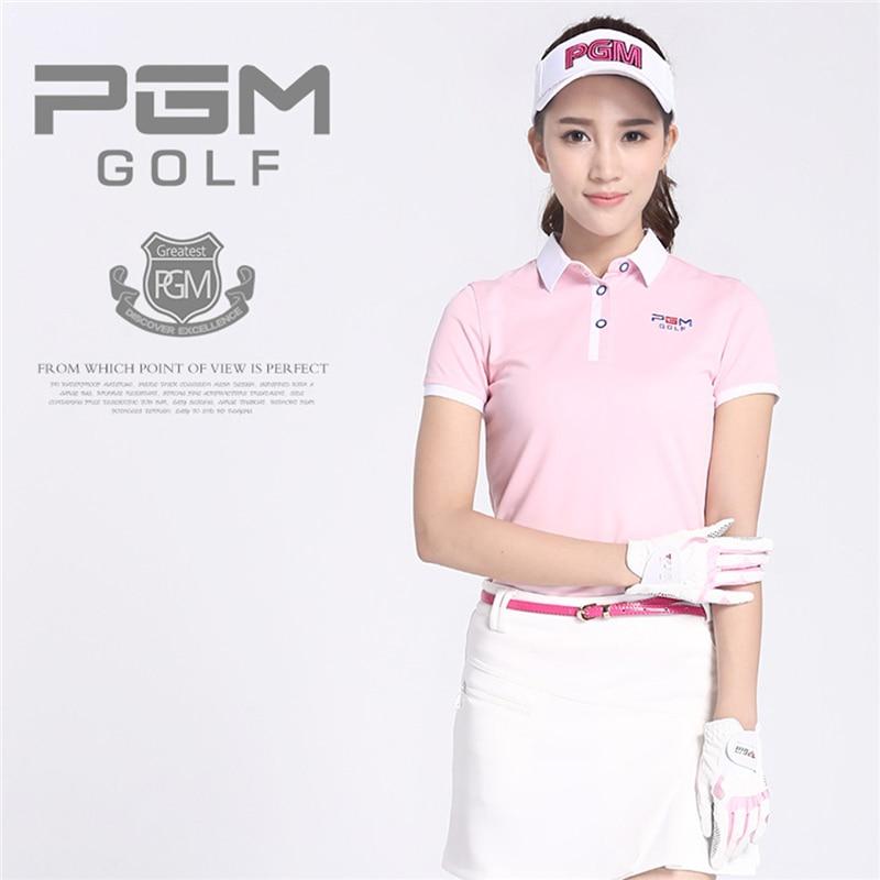 PGM merk golf rok Dames Buitensporten Zachte kleding Polo Katoen - Sportkleding en accessoires