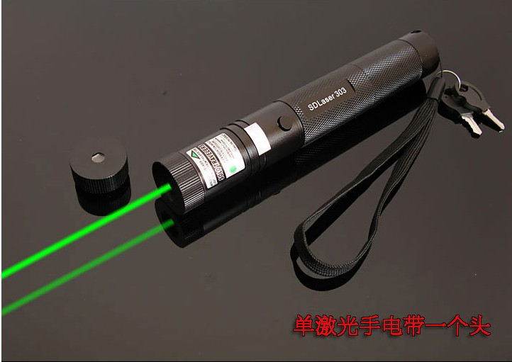 Potente militar puntero láser verde 1000000 M alta potencia 532nm LAZER linterna foco quema partido, globo pop caza SD 303