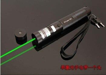 Puissant Militaire Vert laser pointeur 1000000 m Haute puissance 532nm LAZER lampe de Poche Se Concentrer Allumette Brûlante, pop ballon Chasse SD 303