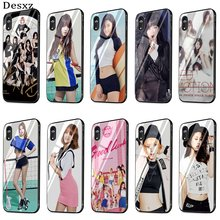 Mobile Phone Case Glass For iPhone 5 5s SE 6 6s 7 8 Plus X XS Max XR Cover AOA Ace Of Angels Shell(China)