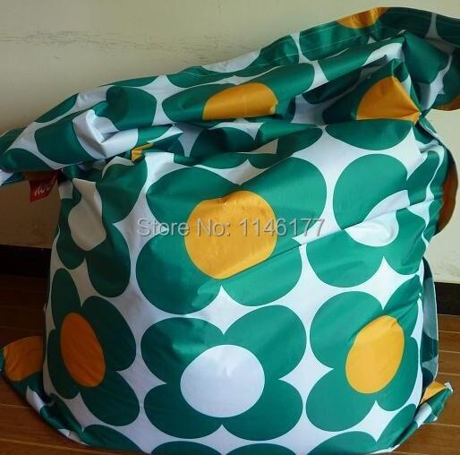 2017 Sale Cuch Sofa Ywxuege New Coming Flower Pattern Waterproof Adult Garden Outdoor Beanbag Bean Bag Bed Chair Covers