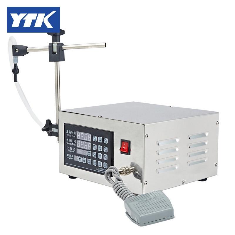 Hot Sale 3-3000ml Water Softdrink Liquid Filling Machine Digital Control YS-MV901 GRINDING цены