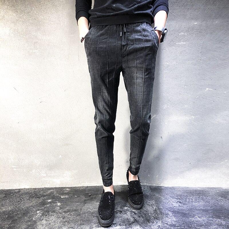 Spring Fashion Designer Jeans Men High Quality 2018 New Hip Hop Denim Harem Pants Mens Casual Plus Size Slim Fit Jeans Trousers ...