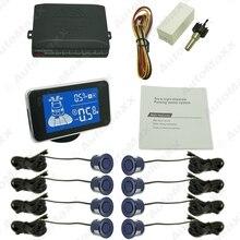 10-Color новый 8 датчика передний и задний парктроник мини-расстояние цифровая dual-дисплей датчик парковки # J-3856