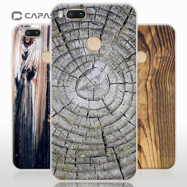 huge selection of 2d8ae 850ec US $7.99 |For Xiaomi Mi A1 MiA1 Mi 5X Mi5X Case Cover 3D Printed Stone  Wooden Pattern Phone Case for Xiaomi Mi A1 Back Cover Shockproof-in ...