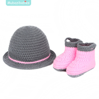 New Children S Handmade Hat Newborn Photography Props Infant Hand Hat Crochet Baby Outfits Animal Knit