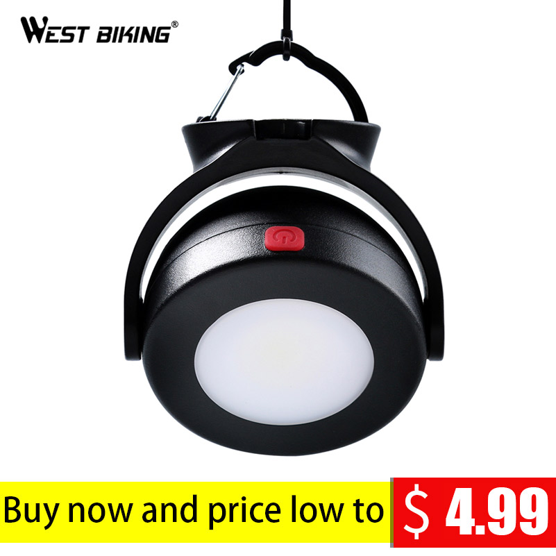 WEST BIKING Outdoor Camping Tent Accessory Lamp Tent Emergency Light Bulb Night Light No Battery Included Portable Travel Tools