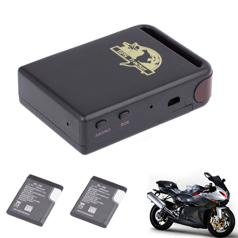 Hot Brand TK102 GPS/GSM/GPRS Tracker Car Vehicle Mini Tracking Device + 2 Battery
