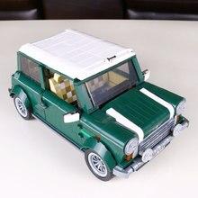 1077 Unids Yile 002 Mini Cooper Modelo de Construcción Bloques de Construcción Coche para Los Niños Ladrillos De Regalo Compatible Con lego 10242 Lepin 21002