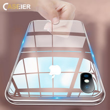 CASEIER Super Clear Phone Case For iPhone X XS MAX XR Transparent Soft TPU Case Funda For iPhone X XS MAX 8 7 6 6s Plus 5S Capa цена и фото