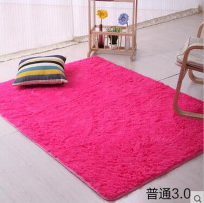 Lovely Pink White Rug