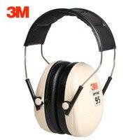 3M H6A Schalldichte ohrenschützer Sound isolierung Sicherheit 3M Ohr Protector Noise reduktion Ohr muffs Für Studie Schlafen Arbeit SNR: 27db-in Gehörschutz aus Sicherheit und Schutz bei