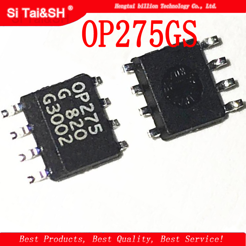 5pcs   OP275GS OP275G OP275 SOP-8  Operational Amplifier New Original