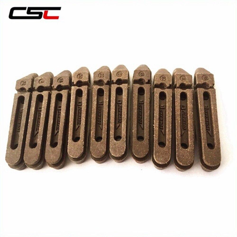 CCS резиновые тормозные колодки для углеродного велосипеда обода Углеродные велосипедные колеса