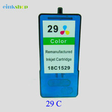 1PC Einkshop For Lexmark 29 Ink Cartridge Lexmark29 for lexmark X2500 X2530 Z1300 X2510 X5075 Z1310 X5490 X5495 Z845 Z1320
