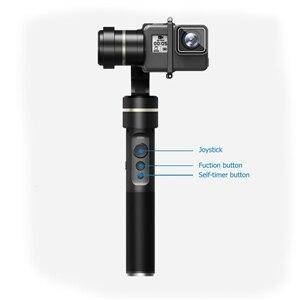 Dhl livre feiyutech feiyu fy handheld 3-axis gimbal para gopro hero 5 g5 e outras câmeras de ação à prova d' água