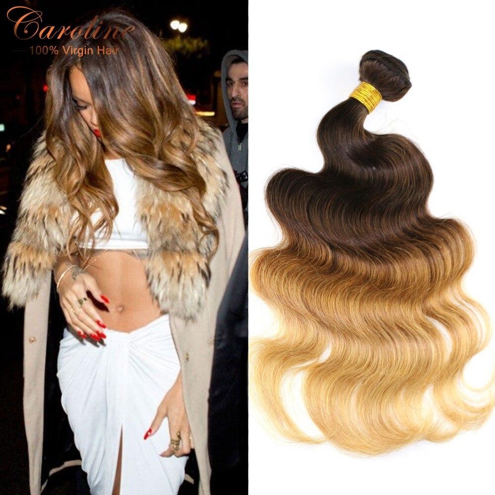 Fashion Icon Hair Grade 8a Ombre Virgin Hair Brazilian Body Wave