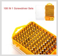 Free Shipping Brand 108 In 1 Screwdriver Sets Multi Function Computer Repair Tools Essential Tools Digital