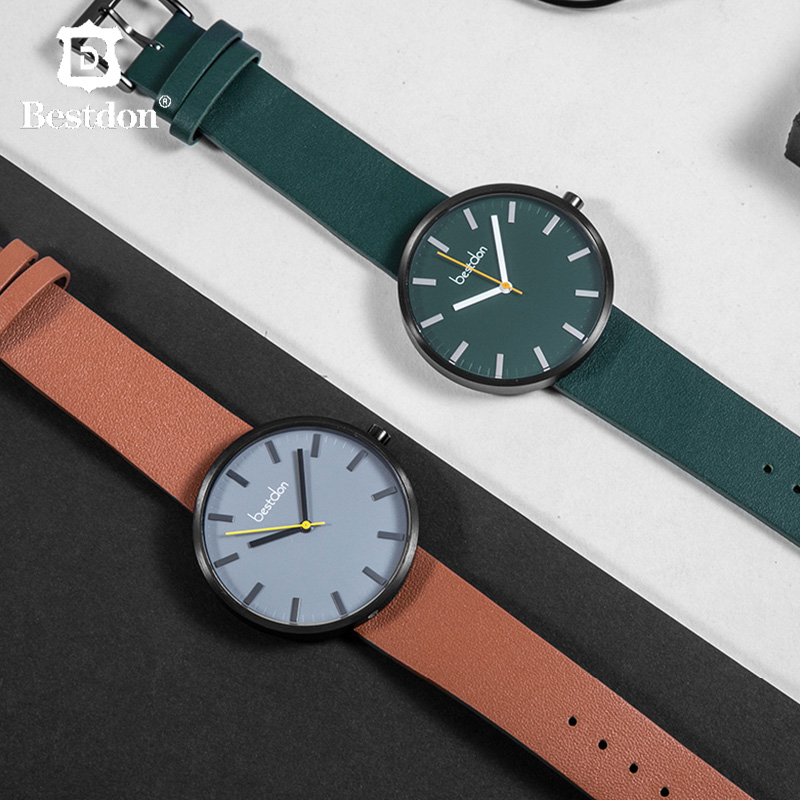 Bestdon Large Dial Sports Watch Men Hip Hop Style Brand Green Wristwatch Waterproof Leather Luxury Quartz Watches With Gifts BoxBestdon Large Dial Sports Watch Men Hip Hop Style Brand Green Wristwatch Waterproof Leather Luxury Quartz Watches With Gifts Box
