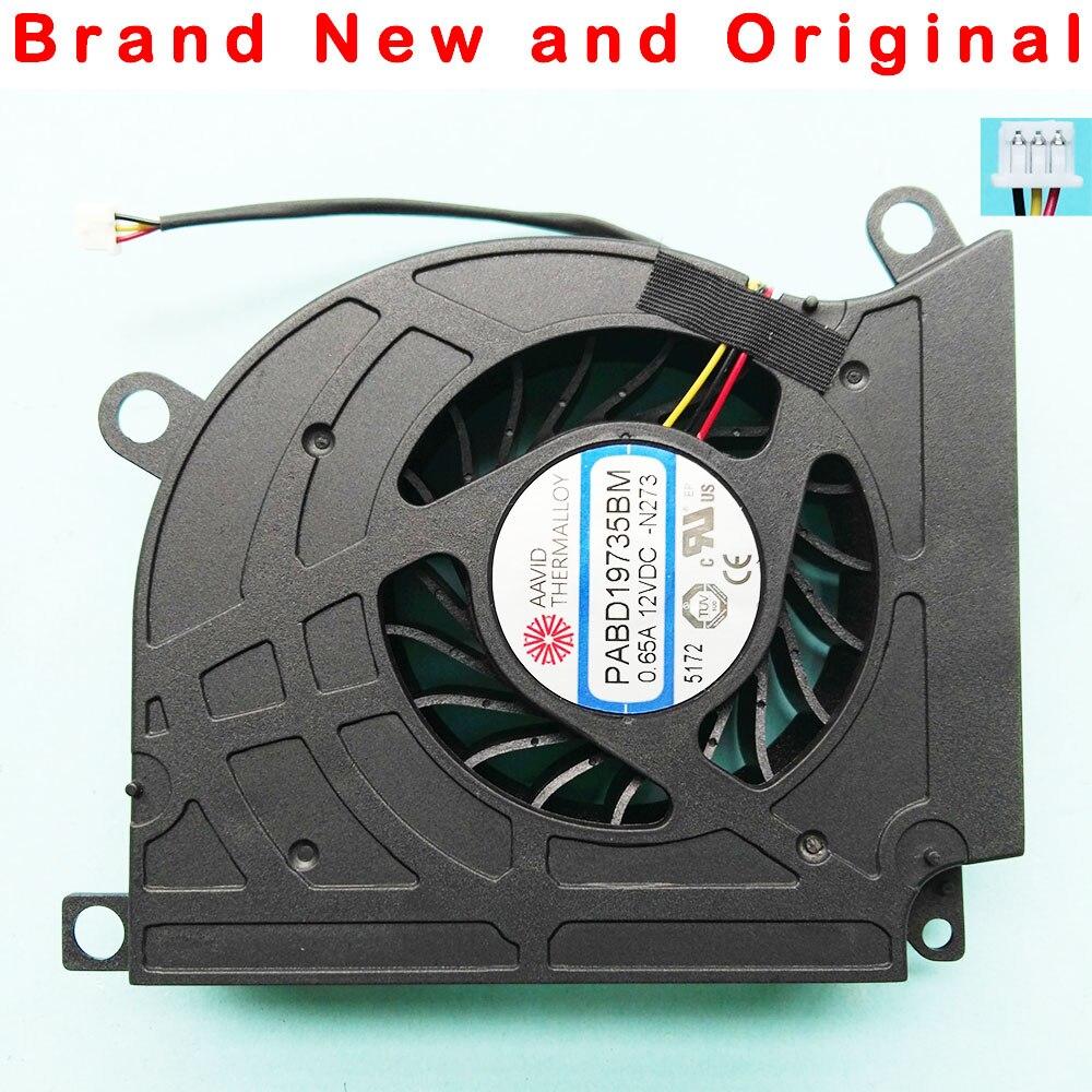新オリジナル cpu 冷却ファン msi MS クール 16F1 16F2 16F3 1761 1762 GX660 GT680 GT683 GT60 GT70 PABD19735BM n273 0.65A  グループ上の パソコン & オフィス からの ファン & 冷却 の中 1