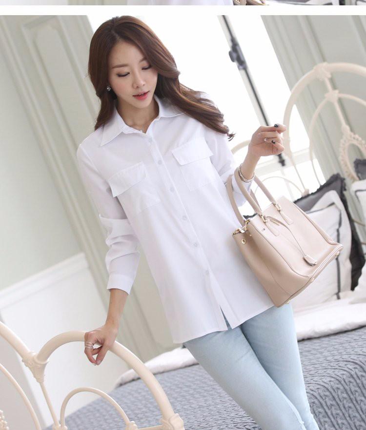HTB1B8gGLXXXXXa3XpXXq6xXFXXXj - Casual Blouse Long Sleeve Femininas Ladies Work Wear Tops Shirt