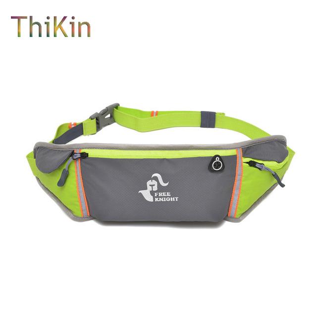 ThiKin Nylon Impermeable de La Cintura Cinturón Bolsa de Hombres Bolso de La Cintura de Múltiples Funciones Con Estilo Patchwork Pequeño Molle Viajes Mujeres Bolsa de Fanny