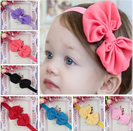 399ef5c2791ca JRFSD New Headwear Microfiber Flowers Bow Hair Bands Kids Headband Stretch  Turban Knot HairBand Kids Hair Accessories H4-in Hair Accessories from  Mother ...