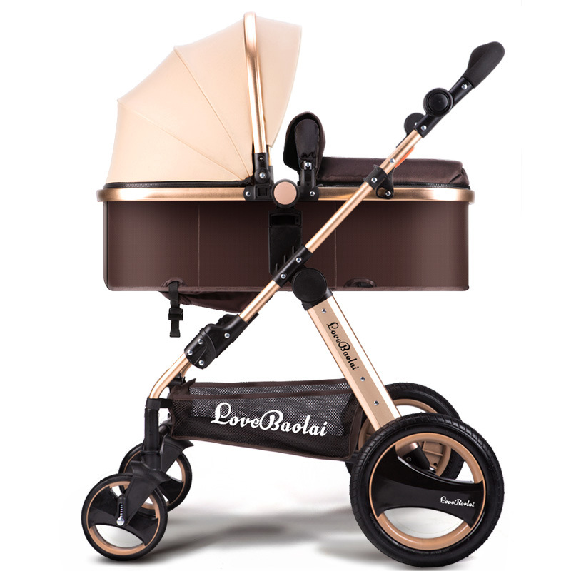 Yibaolai baby stroller high landscape can be sit can lying strollers can be folded children's trolley portable baby carriage the beatles the beatles a hard day s night ecd