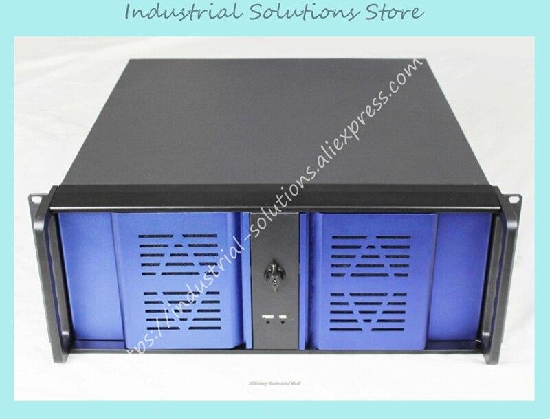 New 4U Aluminum Panel Double Door Server Industrial Computer Case 4U480L Box 8 Hard DriveNew 4U Aluminum Panel Double Door Server Industrial Computer Case 4U480L Box 8 Hard Drive