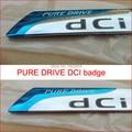 Renault Pure Drive DCI Rear Trunk Chrome Badge Emblem Sticker fluence laguna 2 Koleos
