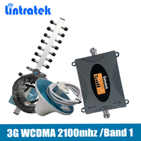 Lintratek Gain 65dB 3G UMTS 2100 LTE Band 1 Mobile Signal Repeater 3G HSPA WCDMA 2100mhz