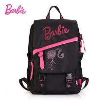 Барби 2017 женские рюкзаки черный кожзаменитель кожаные женские модные сумки через плечо Сумки для женщин простой Styel большой объем
