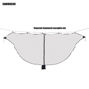 Image 2 - Lightweight Hammock Bug Mosquito Net  Easy Setup Outdoor Double Single Hammocks for 360 Degree Protection Dual Sided Zipper