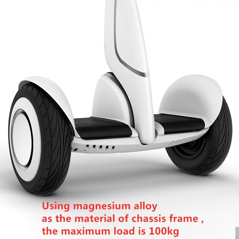 Xiaomi Mini Plus двухколесный умный электрический самокат, самобалансирующийся скутер, 20 км/ч, пульт дистанционного управления, скейтборд, 2019 - 4