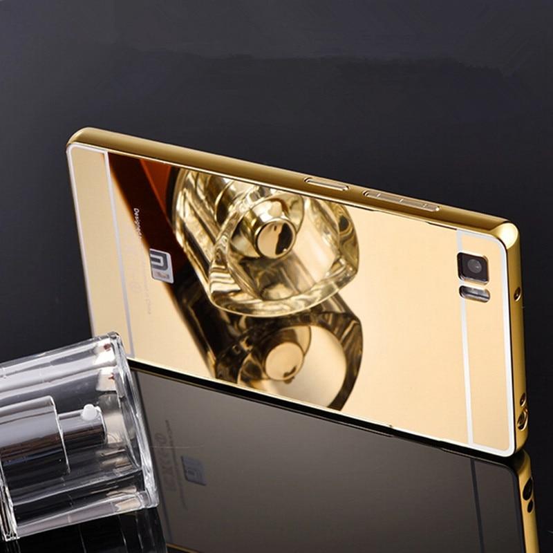 Xinchentech para Xiaomi Mi3 Funda de lujo espejo de metal + acrílico - Accesorios y repuestos para celulares - foto 2
