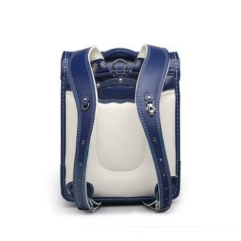 Best Savings for leather Orthopedic School Bag Children Backpack For Girl  And Boys Students Bookbags Japan e25c4a5d20316