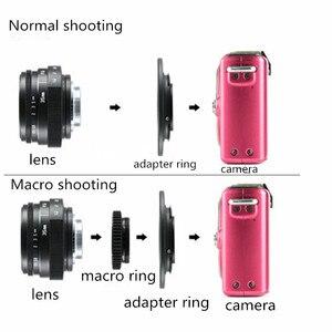 Image 5 - كاميرا فوجيان 35 مللي متر f1.6 C كاميرا CCTV عدسة II + C حلقة محول جبل + ماكرو ل فوجي فوجي فيلم X Pro1 (C FX)
