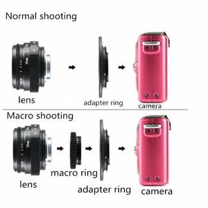 Image 5 - Fuji בלתי 35mm f1.6 C הר מצלמה טלוויזיה במעגל סגור עדשת השני + C הר מתאם טבעת + מאקרו עבור fuji fuji סרט X Pro1 (C FX)
