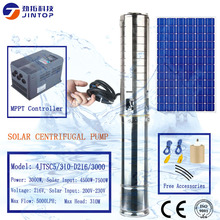 цена на (MODEL 4JTSC5/310-D216/3000)JINTOP SOLAR PUMP MAX FLOW RATE 5000L/H MAX HEAD 310M Submersible High Power SS304 Solar Water Pump