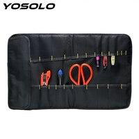 YOSOLO Car Storage Bag Multifunctional Roll Repair Kit Oxford Fabric Tool Bag Portable Car Accessories Stowing