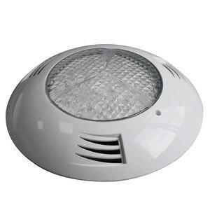 Image 4 - 12 V Marine Boot Kunststoff LED Unterwasser Licht RGB 6 W 24 W Schwimmen Pool Dekoration Lampe IP68 Wasserdicht