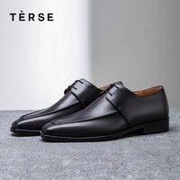 Лаконичный Новая мужская обувь ручной работы из натуральной кожи повседневная обувь роскошные оксфорды дышащая обувь 4 вида цветов логотип