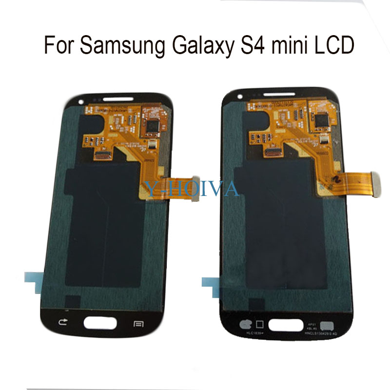 Y-HOIVA Compatible for <font><b>Samsung</b></font> <font><b>Galaxy</b></font> <font><b>S4</b></font> <font><b>mini</b></font> <font><b>i9190</b></font> i9192 i9195 Touch <font><b>Screen</b></font> <font><b>LCD</b></font> Display image