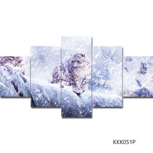 Canvas Painting 5 Piece Art Wall Posters And Prints By Numbers Diy Poster