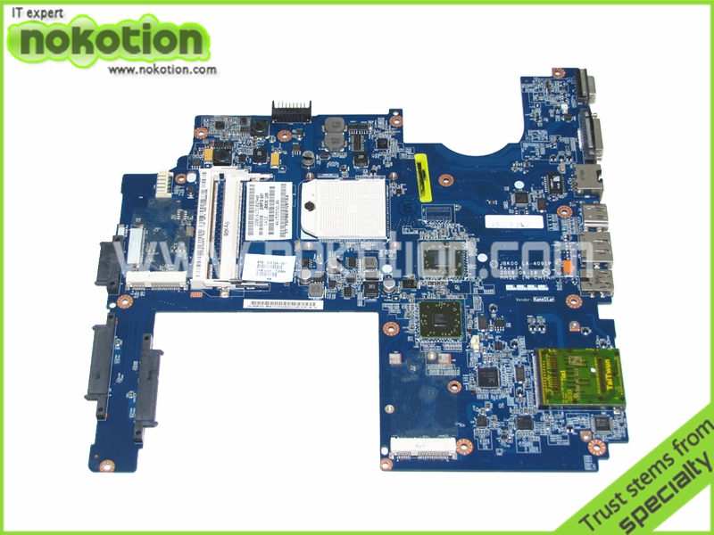 506124-001 For Hp Pavilion DV7-1000 DV7-1245dx laptop motherboard amd ddr2 Socket s1 JBK00 LA-4091P high quality laptop motherboard fit for hp pavilion dv7 4000 dv7 4100 laptop motherboard 615688 001 100