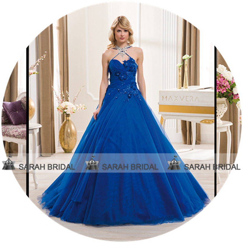 Wedding Gowns Blue Color - Lady Wedding Dresses