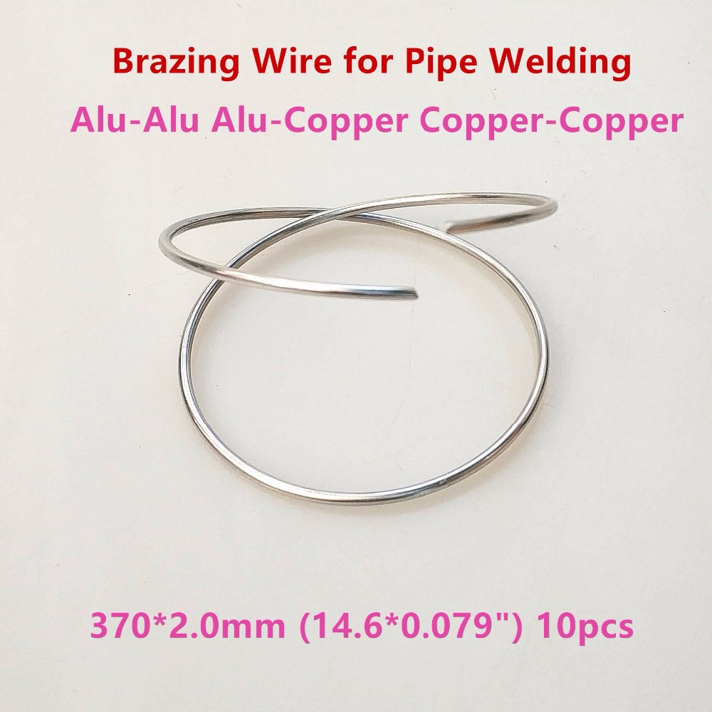 Refrigeration Accessories Aluminum Braze Welding Rod Wire Repairing Wiring Flux Cored Dia20mm