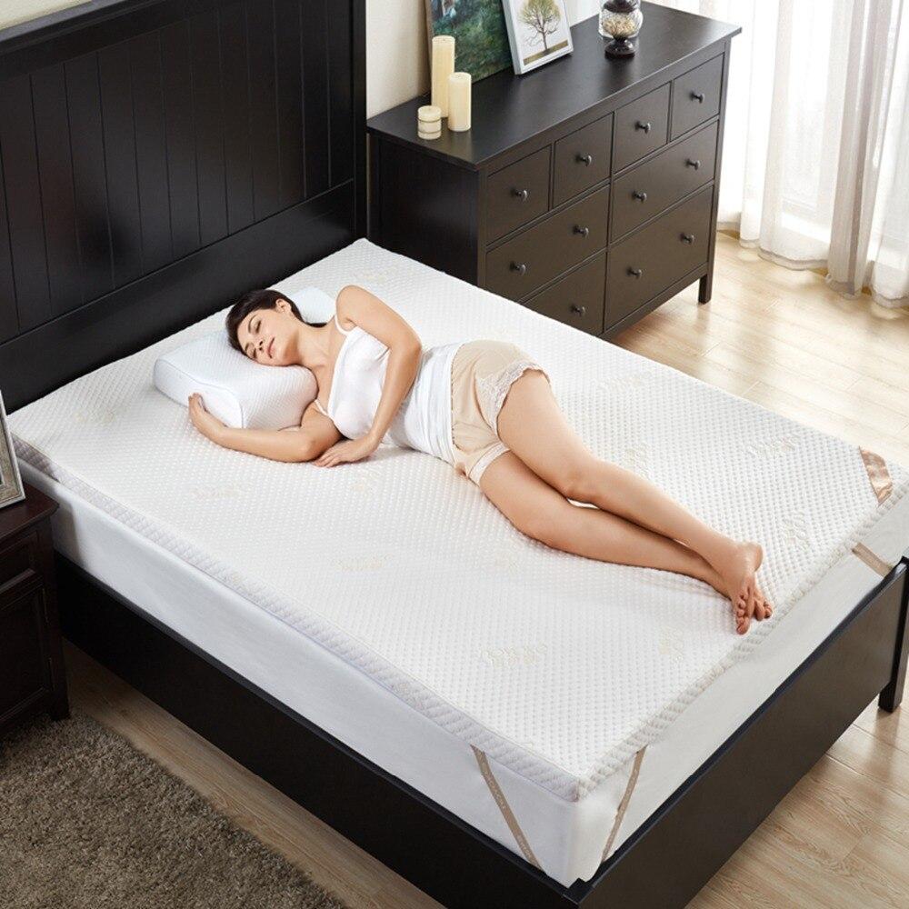 NOYOKE Bed Mattress tatami Memory Foam Mattress 5/7cm Slow Rebound Bed Furniture Mattress Topper 0.9m 1.2m 1.5m 1.8m Bed