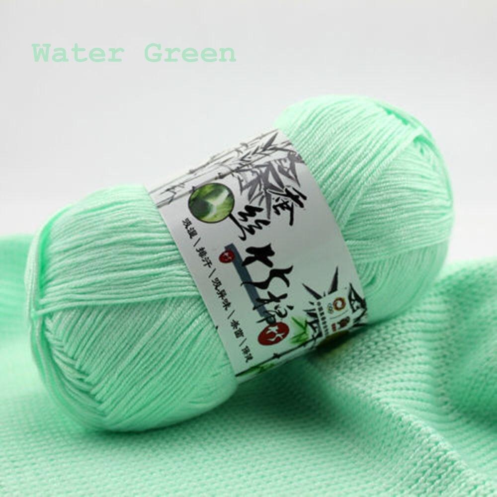 Knitting Yarn Aliexpress : Wholesale popular colors super soft natural smooth bamboo